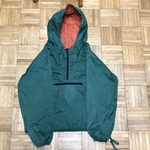 Vintage GAP Green / Orange Anorak Windbreaker